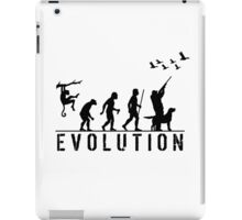 Funny Evolution of Duck Hunting  iPad Case/Skin