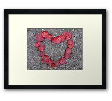 Happy Valentine's Day, Canadian Style! Framed Print
