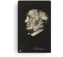 Postcard of Richard Wagner Canvas Print