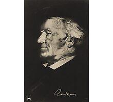 Postcard of Richard Wagner Photographic Print