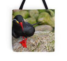Bird with the Dali' moustache Tote Bag