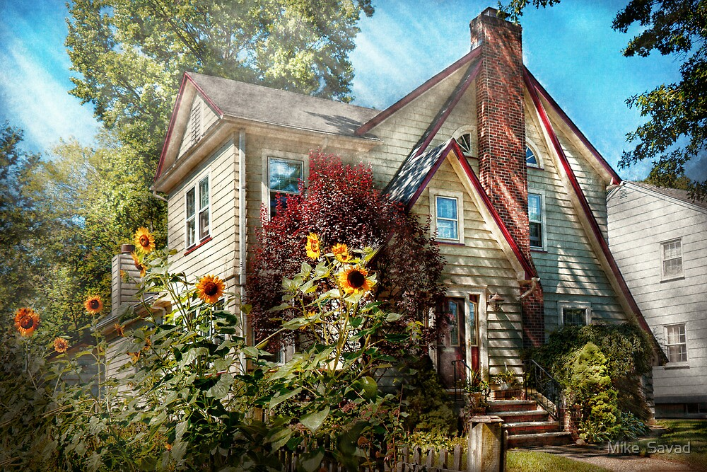 House - Westfield, NJ - The summer retreat  by Mike  Savad