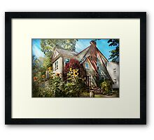 House - Westfield, NJ - The summer retreat  Framed Print