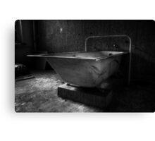 Bathtub Canvas Print