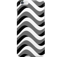 Mod Grayscale Waves iPhone Case/Skin
