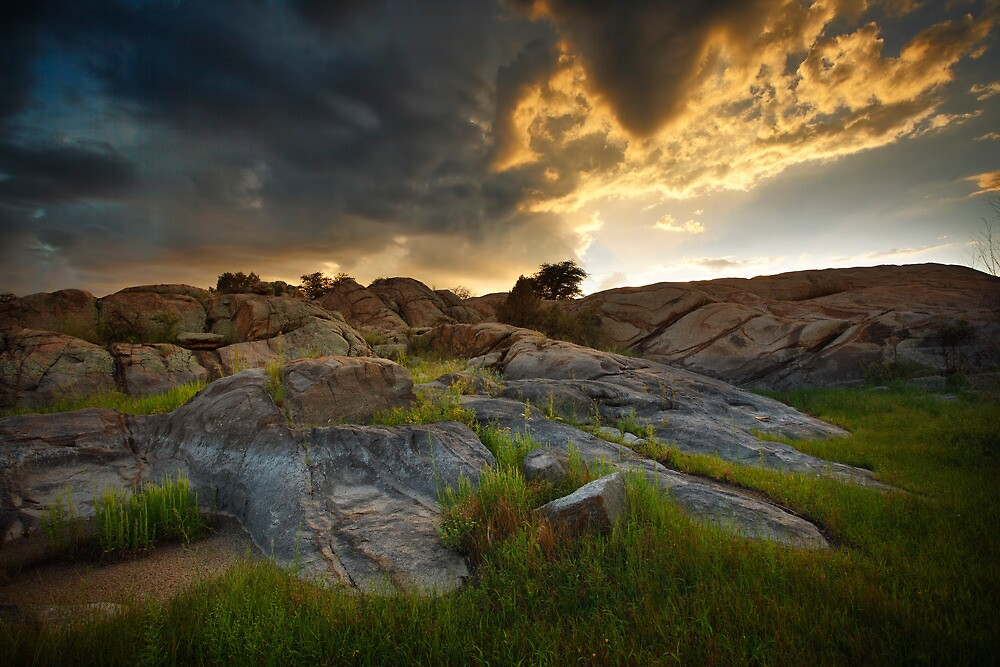 Storm Flow by Bob Larson