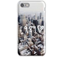 1989 NYC iPhone Case/Skin