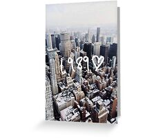 1989 NYC Greeting Card