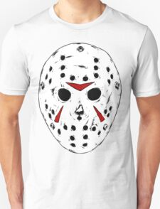 White Jason Hockey Mask T-Shirt