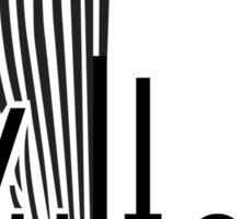 Vultee Aircraft Logo (Black) Sticker