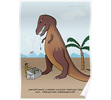 Prehistoric Greengrocer Poster