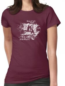 We're in Normandy Womens Fitted T-Shirt