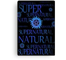 Supernatural In Blue Canvas Print