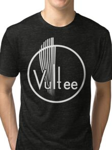 Vultee Aircraft Logo (White)  Tri-blend T-Shirt