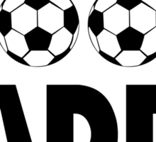 """Father's Day """"Soccer Daddy"""" Sticker"""