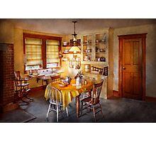 Kitchen - Typical farm kitchen  Photographic Print