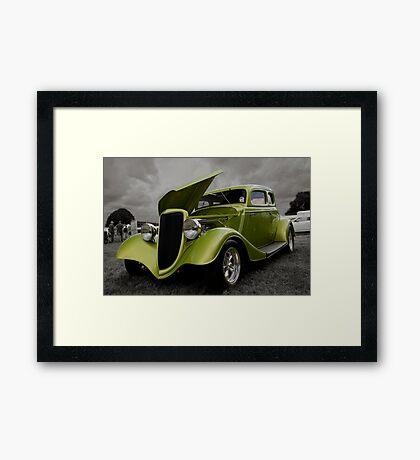 VW Sports Car Framed Print