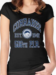 Currahee Athletic Shirt Women's Fitted Scoop T-Shirt