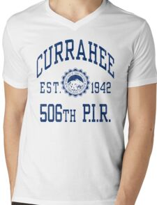 Currahee Athletic Shirt Mens V-Neck T-Shirt