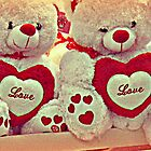 Double Teddy Love by Jane Neill-Hancock