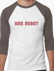 MRS. ROBOT Men's Baseball ¾ T-Shirt