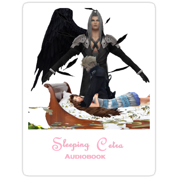 Sleeping Cetra Audiobook White by FFSteF09