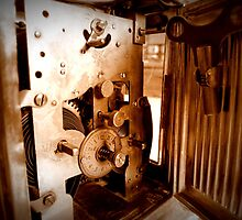 Inner Workings...1848 UNGHANS Carriage Clock...Still Works by trueblvr
