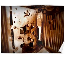 Inner Workings...1848 UNGHANS Carriage Clock...Still Works Poster