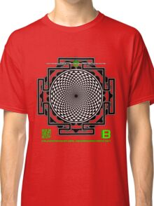 OFFICIAL ORGANIC BENEFIT MERCH LOTUS SAHASRARA NMANDALA 11 QR Classic T-Shirt