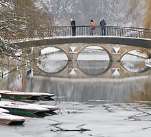 Photographers in Cambridge ... in the snow by BeardyGit