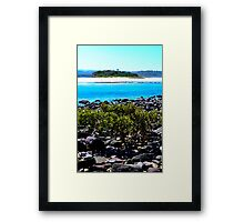 Minnamurra inlet and Mystics Beach Framed Print