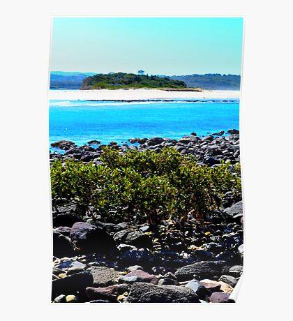 Minnamurra inlet and Mystics Beach Poster