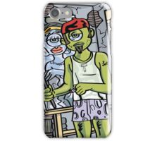 Monster Artist Studio (Sunset) iPhone Case/Skin
