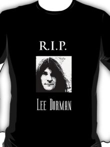 R.I.P. Lee Dorman T-Shirt