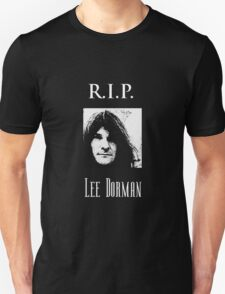 R.I.P. Lee Dorman T-Shirt