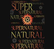 Supernatural In Red Unisex T-Shirt