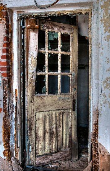 Old Door by Karen  Burgess