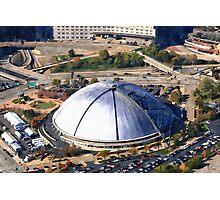 Civic Arena Aerial Digital Painting Photographic Print