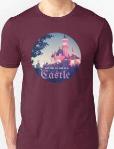 Magic Kingdom Castle Princess Typography Fairy  T-Shirt
