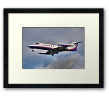 Learjet Framed Print