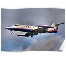 Learjet Poster