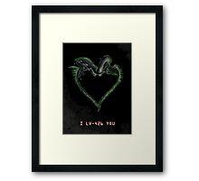 I LV-426 YOU Framed Print