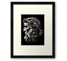 Head of Neptune Framed Print