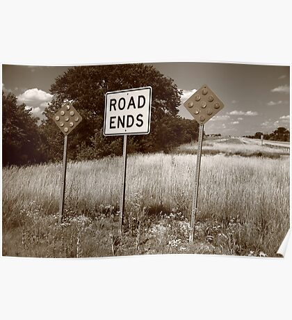 Route 66 - End of the Road Poster