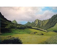 Kualoa Valley Photographic Print