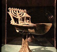 Hebrew Menorah for Hannukah by vigor