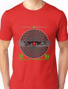 OFFICIAL ORGANIC BENEFIT MERCH SAHARARA WINGEDDISK 11 QR Unisex T-Shirt