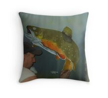trout 2 Throw Pillow