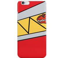 Dino Charge - Red iPhone Case/Skin