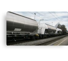Freight Train VRS2 Canvas Print